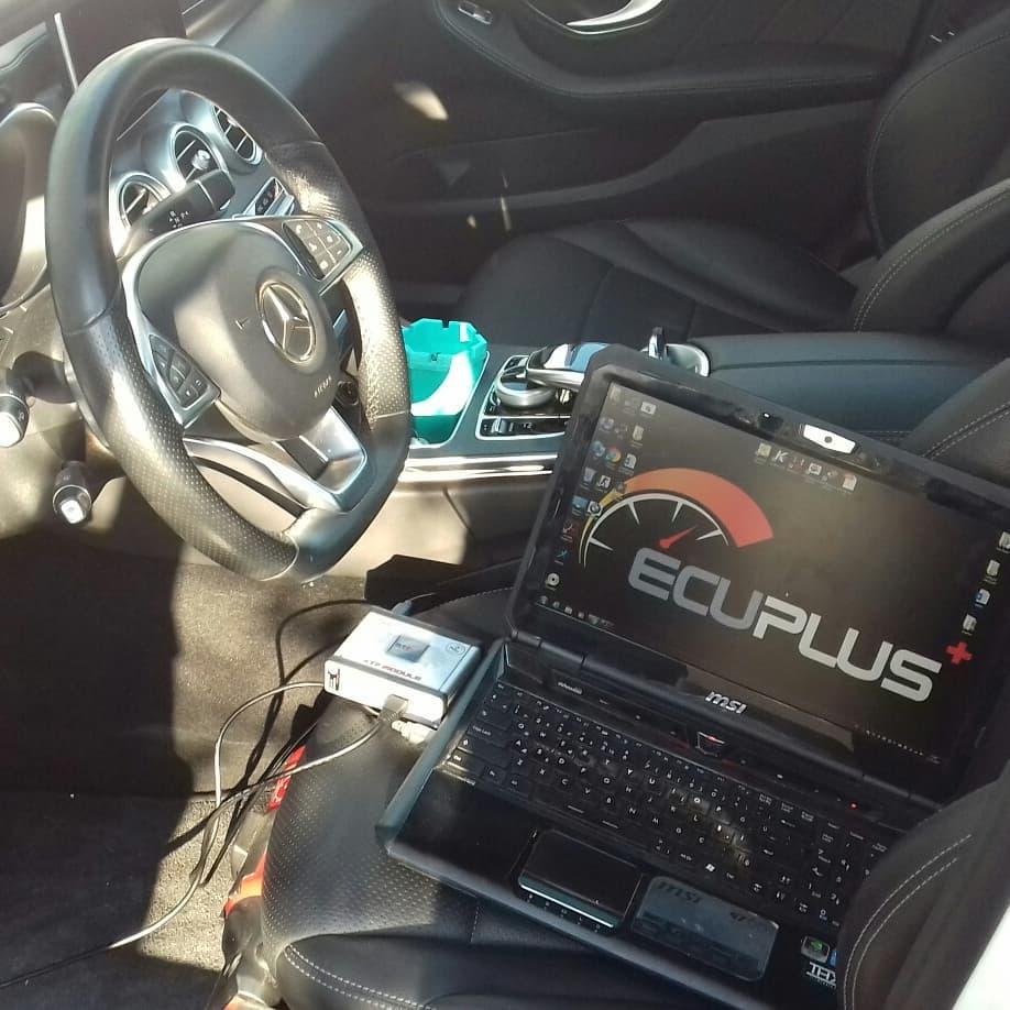 Mercedes C200D Chiptuning DPF İptali Orjinal➡184hp 300nm Chiptuning➡250hp 400nm %15 yakıt tasarrufu